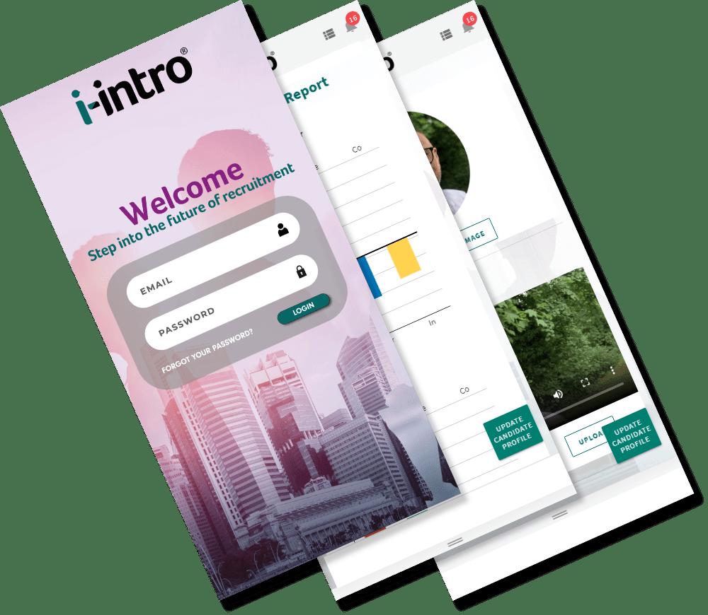 Candidates | Recruitment Phone App | I-Intro